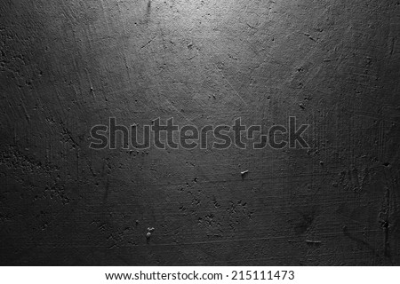 Closeup of textured concrete wall