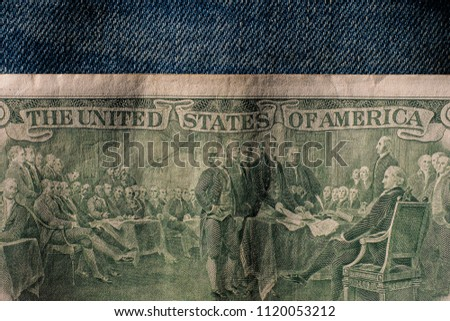 Two Dollar Bill Back - $2 Images and Stock Photos - Avopix com