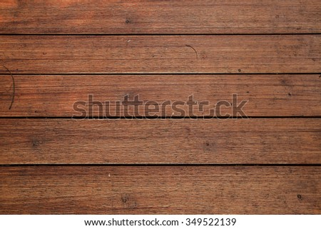 Closeup of the old wood floor texture background #349522139