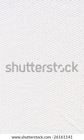 Closeup of toilet paper - stock photo