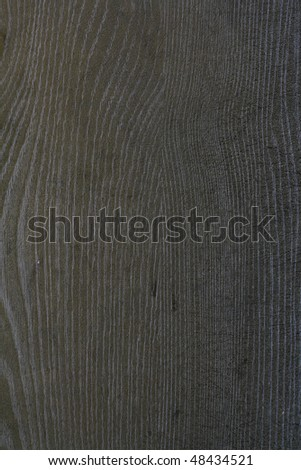 Closeup of wooden background - Black wood