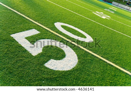 american football field pictures. on American football field