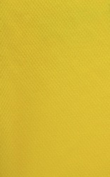 closeup of yellow plastic fabric - sport shirt material