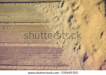 closeup on weathered wooden...