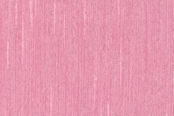 Closeup pink rose color fabric sample texture backdrop. Pink Fabric strip line pattern design,upholstery for decoration interior design or abstract background.