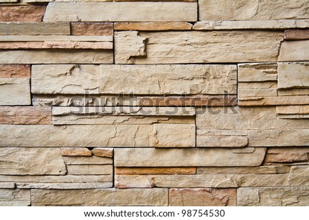 Closeup shot of designed pattern and texture of modern wall