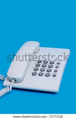 Closeup telephone
