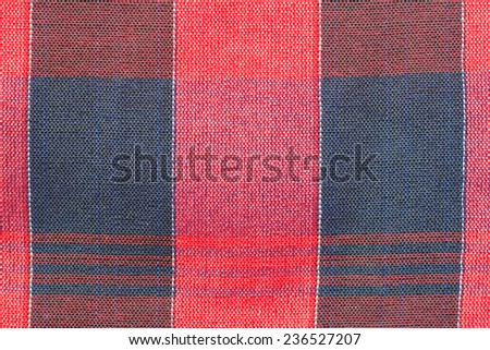 Closeup texture of Fabric, Thai style loincloth #236527207