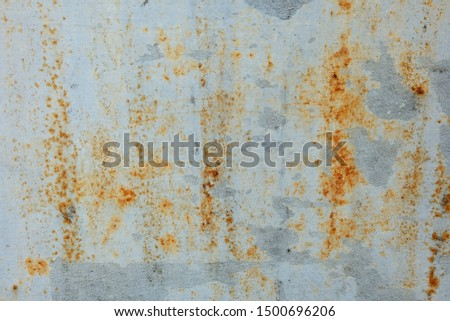 Closeup Texture of Rusty wall, abstract​ ​Rusty.