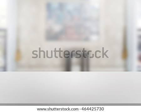 closeup top wood table with Blur Background #464425730