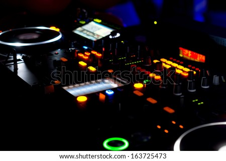 Dj deck lights