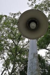 closeup view of old  garden lamp at Recreation Park, Presint 10, Putrajaya