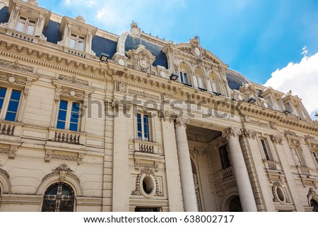 Spanish Style Office Building Free Images and Photos