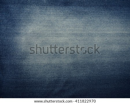 closeup view to abstract background light blue natural clean denim texture  Denim fashion blue jeans