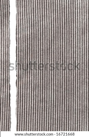 Cloth background with torn edges. Backgrounds and textures.