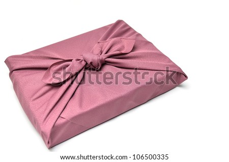 Cloth Wrapper isolated on a white background.