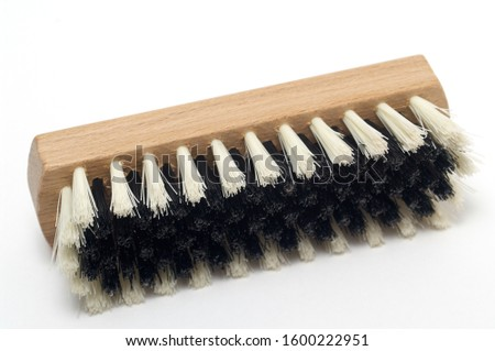 Clothes brush isolated on white background high quality and high resolution studio shoot