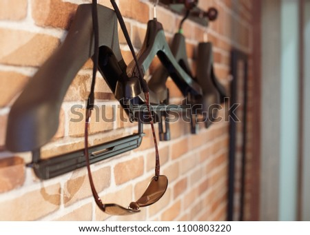 Clothes Hanger and Sunglasses #1100803220