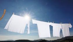 clothes-line laundry