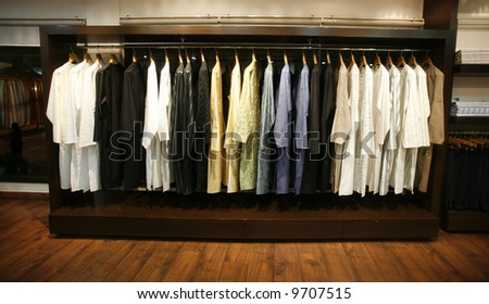 Designer Indian Clothing Stores Delhi clothes on display in designer