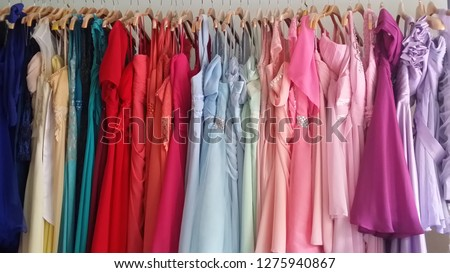 Clothes rack, Clothing, Dress, Clothing store, Colorful, Clothes shop