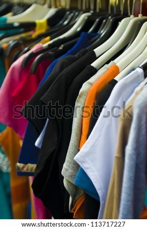 clothes (selective focus)