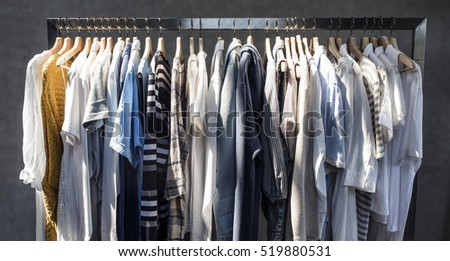Shutterstock Clothes Shop Costume Dress Fashion Store Style Concept