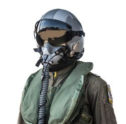 clothing for pilots or pilots suit on white background
