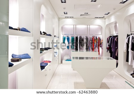 modern clothing store interior 3d rendering stock photo 40924063