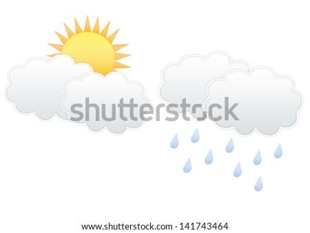 Cloud and Sun and Rain