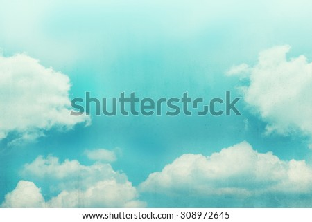 522f393300 cloud background with gradient colour and grunge texture
