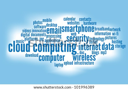 cloud computing concepts background.