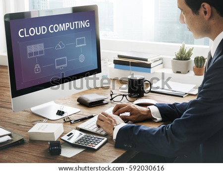 Cloud Computing Data Management Concept