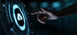 Cloud Computing Technology Internet Storage Network Concept.