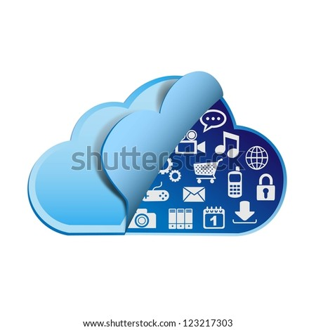 Cloud computing with apps