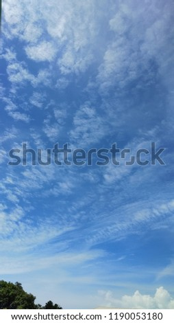 Cloud formations in the wonderful summer sky #1190053180