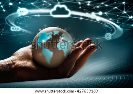 Cloud network in the hands