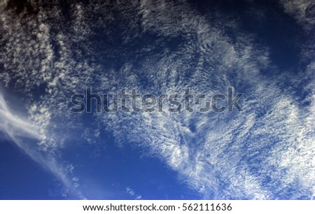 cloud on blue sky #562111636