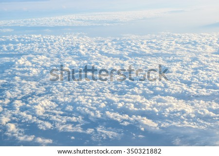 cloud (see from a plane) #350321882