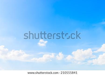 Cloud sky - Shutterstock ID 210555841