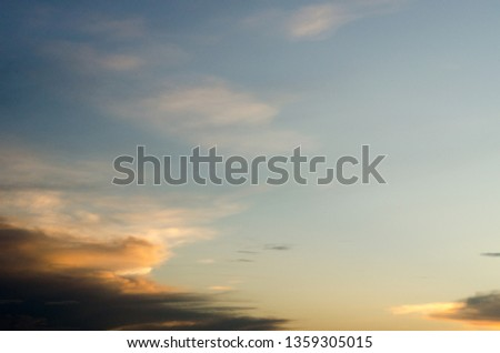 Clouds and beautiful sky #1359305015