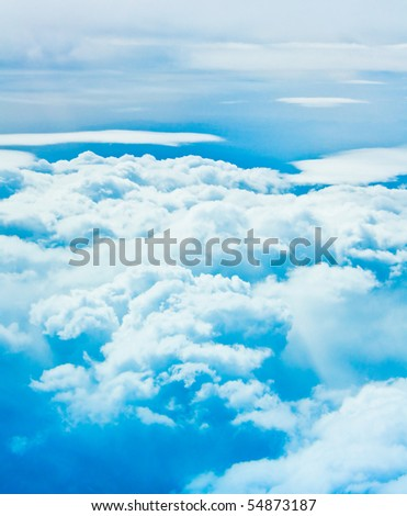 Clouds and skies