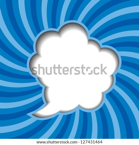 Clouds background with sun rays  Raster version  illustration