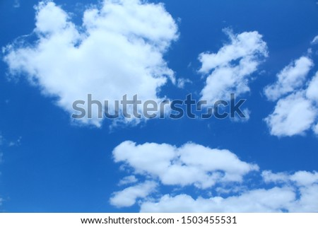 CLOUDS: Clouds come in a variety of forms, which vary depending essentially on the nature, size, number and spatial distribution of its constituent particles and atmospheric wind currents. #1503455531