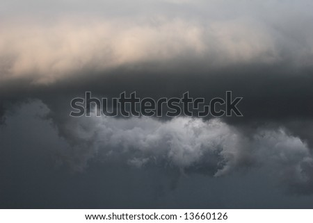 clouds dark weather tornado rain storm sky