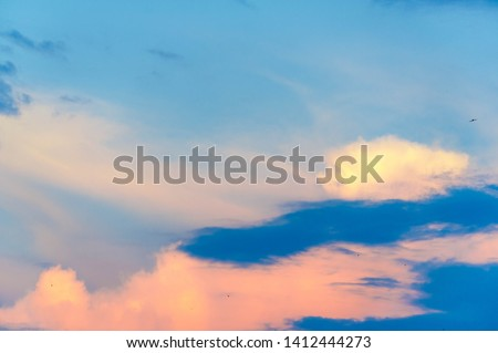 clouds In meteorology, a cloud is an aerosol consisting of a visible mass of minute liquid droplets, frozen crystals, or other particles suspended in the atmosphere of a planetary body. #1412444273