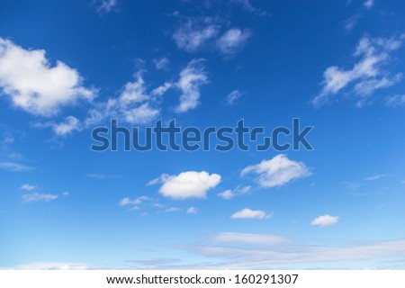 Shutterstock clouds in the blue sky