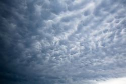 Clouds on abstract formation on the sky of Arraial do Cabo, state of Rio de Janeiro, Brazil.