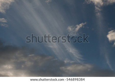 Clouds on sky #546898384