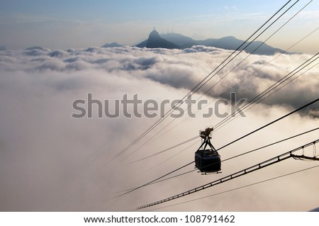 Clouds over Rio de Janeiro